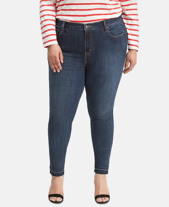 Levi's - Trendy Plus Size 721 High-Rise Skinny Jeans