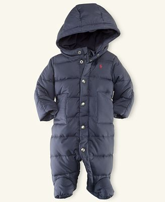 Ralph Lauren Baby Snowsuit Baby Boys Down Snowsuit Kids