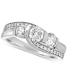 Diamond Bridal Ring (1-1/4 ct. t.w.) in 14k White Gold