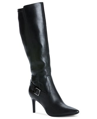 calvin klein s rosa high heel dress boots