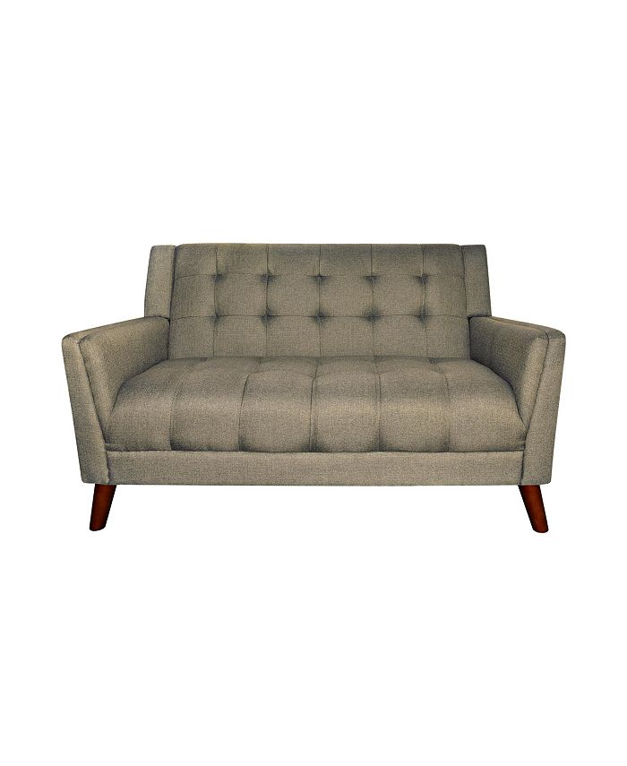 "Noble House - Candace 54"" Loveseat, Quick Ship"