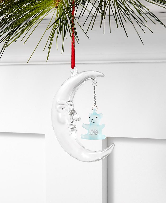 Holiday Lane - Baby's First Blue Moon Ornament