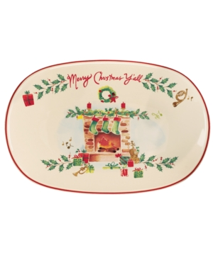 Lenox Dinnerware, Holiday Inspirations & Illustrations Merry Christmas Y'all Tray