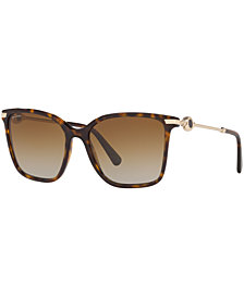 BVLGARI Polarized Sunglasses, BV8222 55