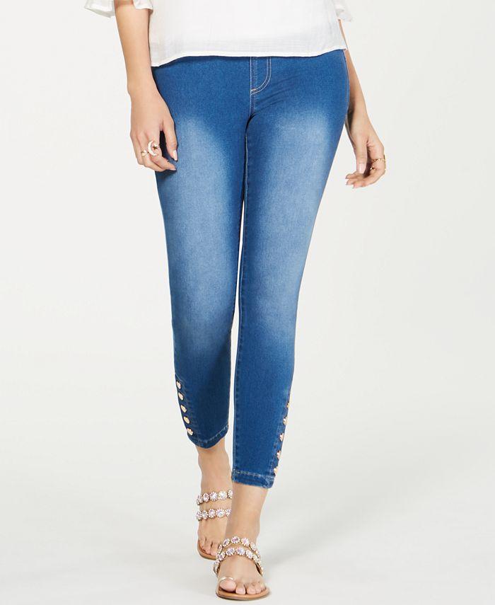 Thalia Sodi - Snap-Stud Leggings, Created for Macy's