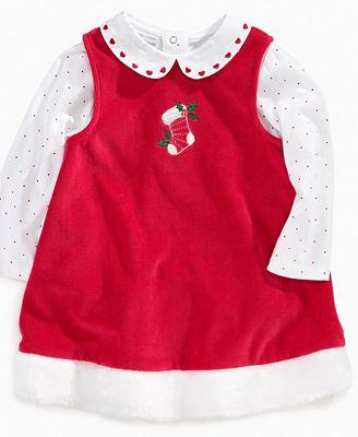 Baby set baby girls 2 piece christmas jumper dress kids macy s