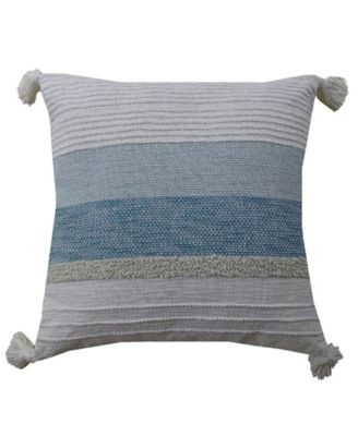 """Decorative Throw Pillow 22"""" x 22"""" for Couch Handloom Woven"""