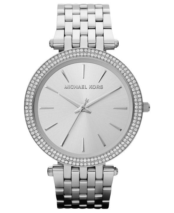 Michael Kors Women's Darci Stainless Steel Bracelet Watch 39mm MK3190