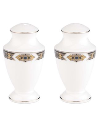 Lenox Vintage Jewel Salt and Pepper Shakers