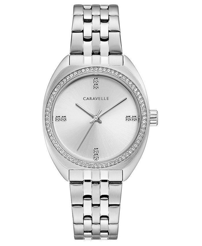 Caravelle - Women's Stainless Steel Bracelet Watch 33mm