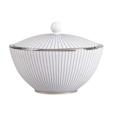 Jasper Conran Pin Stripe Covered Sugar