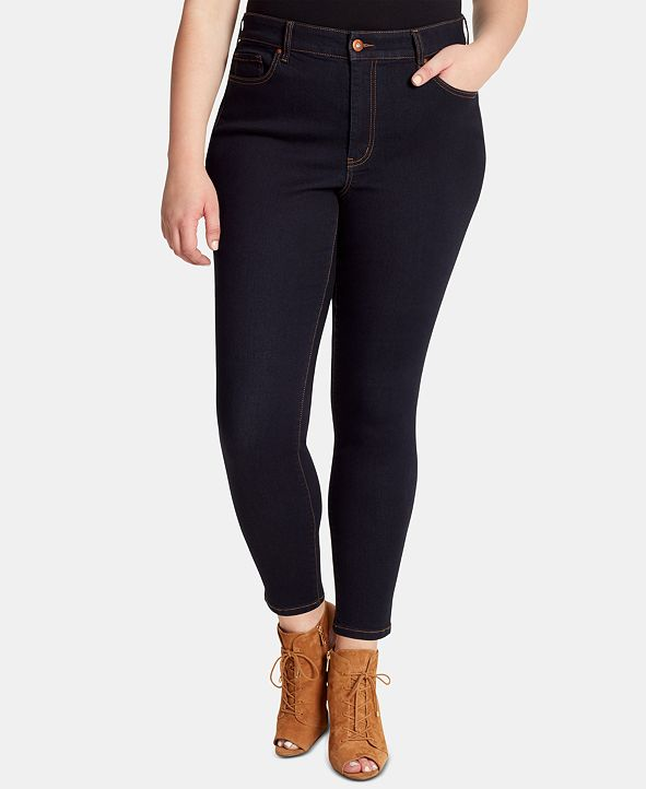 Jessica Simpson Trendy Plus Size Curvy High-Rise Skinny Jeans