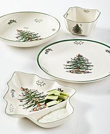 Spode Christmas Tree Serveware  Collection