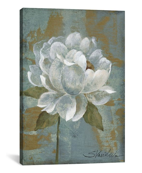 "iCanvas Peony Tile I by Silvia Vassileva Gallery-Wrapped Canvas Print - 40"" x 26"" x 0.75"""
