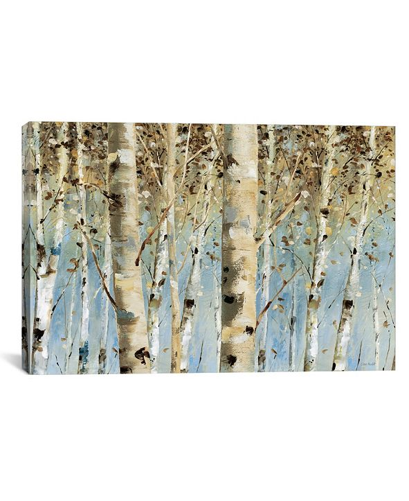 """iCanvas White Forest I by Lisa Audit Gallery-Wrapped Canvas Print - 18"""" x 26"""" x 0.75"""""""
