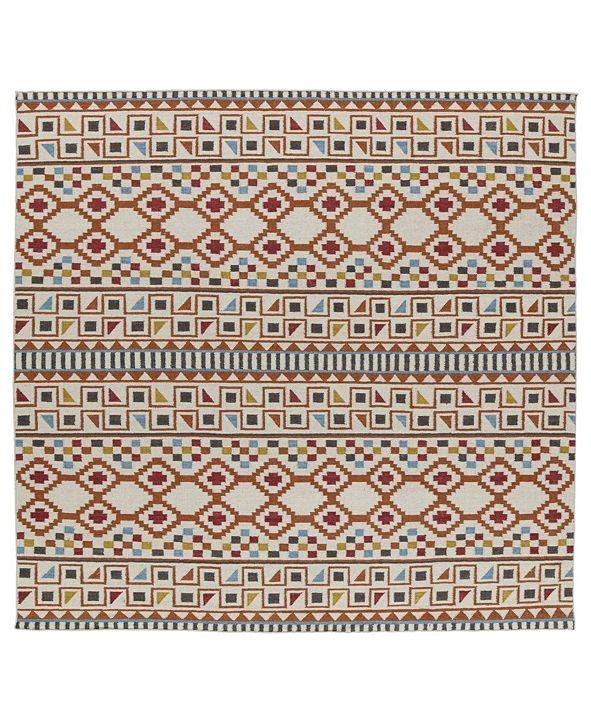 Kaleen Nomad NOM08-53 Paprika 8' Square
