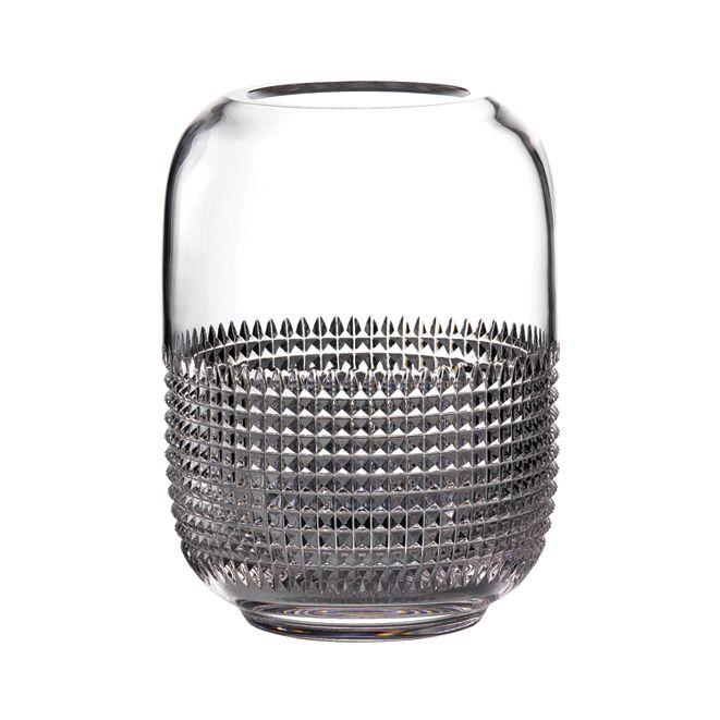 "Waterford Jeff Leatham Infinity 12"" Vase"