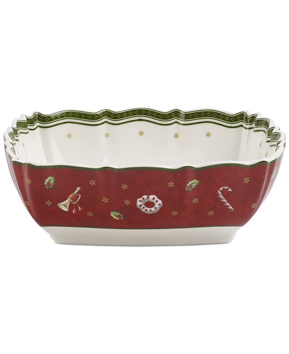 Villeroy & Boch Toy's Delight Square Serving Bowl