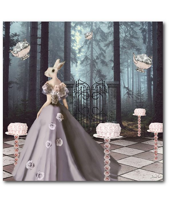 """Courtside Market Cake Forest 16"""" x 16"""" Gallery-Wrapped Canvas Wall Art"""