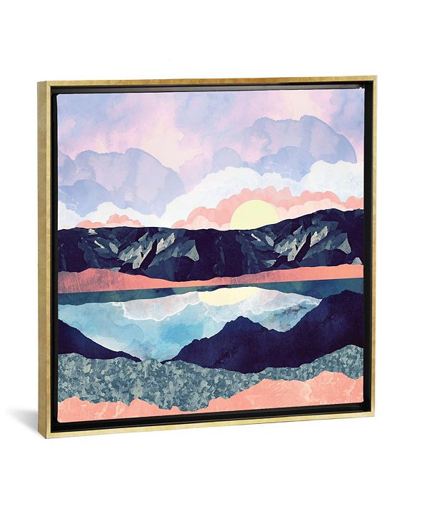 """iCanvas Lake Reflection by Spacefrog Designs Gallery-Wrapped Canvas Print - 26"""" x 26"""" x 0.75"""""""