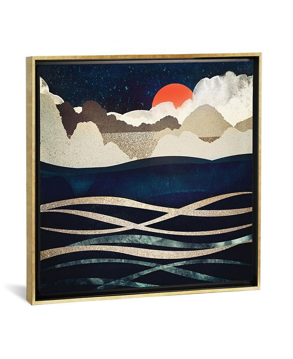 iCanvas Midnight Beach by Spacefrog Designs Gallery-Wrapped Canvas Print