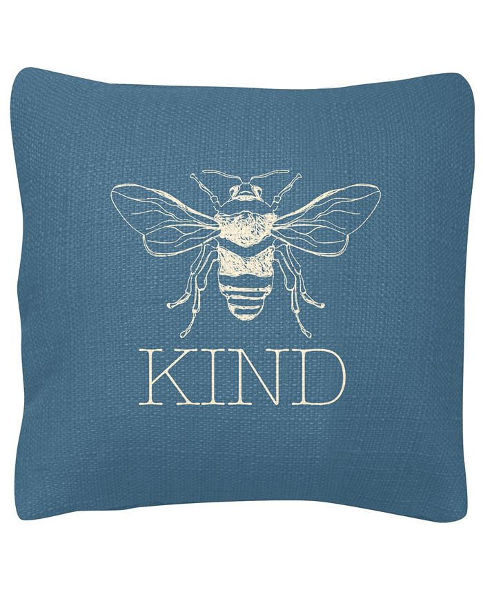 Karma Gifts - Square Pillow, Bee