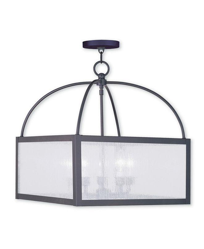Livex CLOSEOUT!   Milford 5-Light Lantern