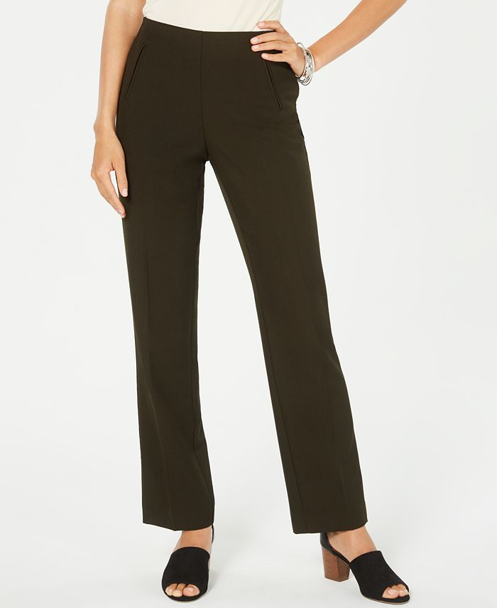 Style & Co - Tummy-Control Pull-On Pants