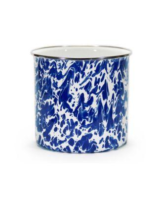 Cobalt Swirl Enamelware Collection Utensil Holder