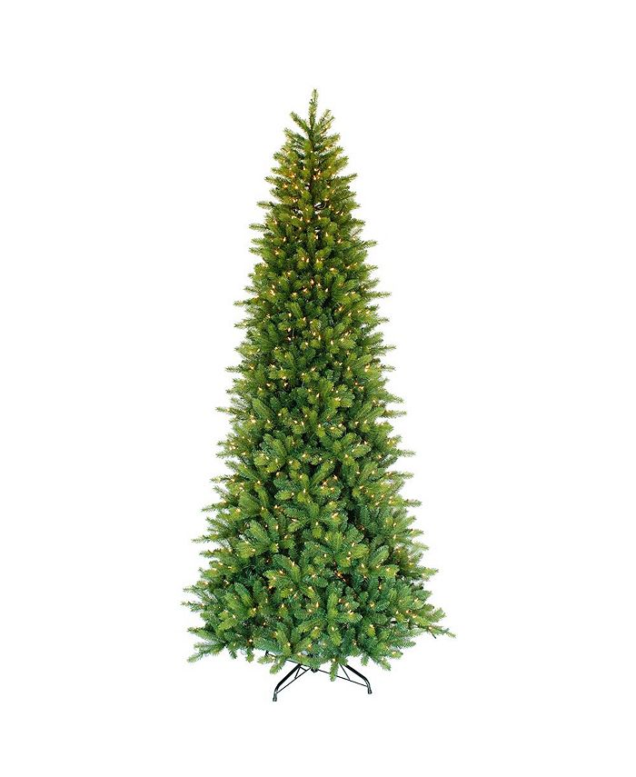 Puleo - 9-foot Pre-Lit Miracle Shape Tree with with 900 white incandescent Lights.