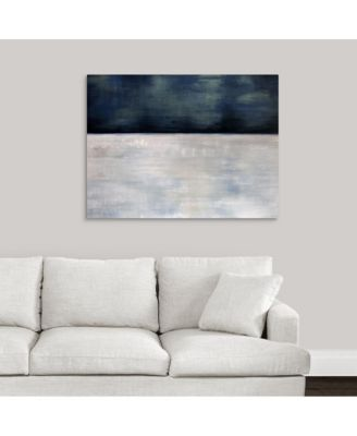 'Arctic Night' Framed Canvas Wall Art, 24