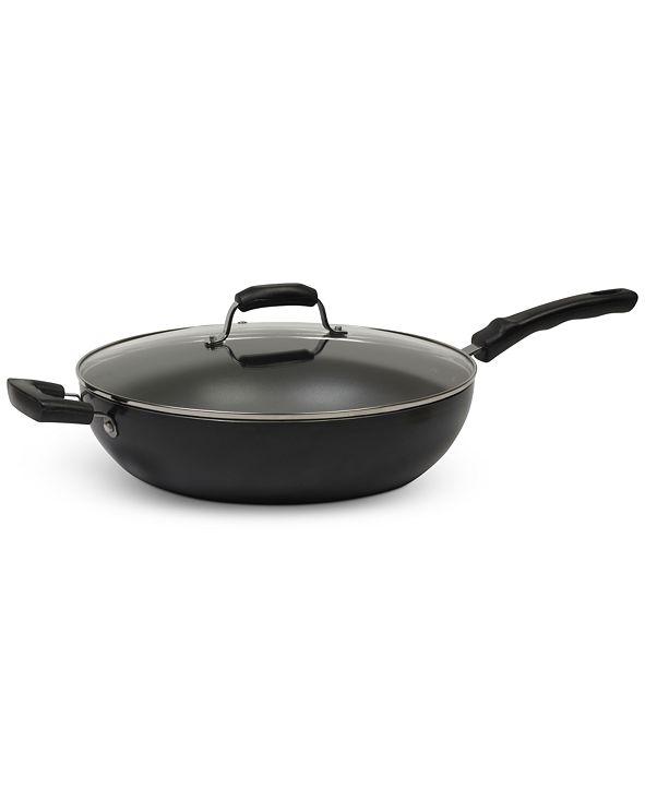 7.5-Qt Sedona Nonstick Jumbo Covered Wok Pan