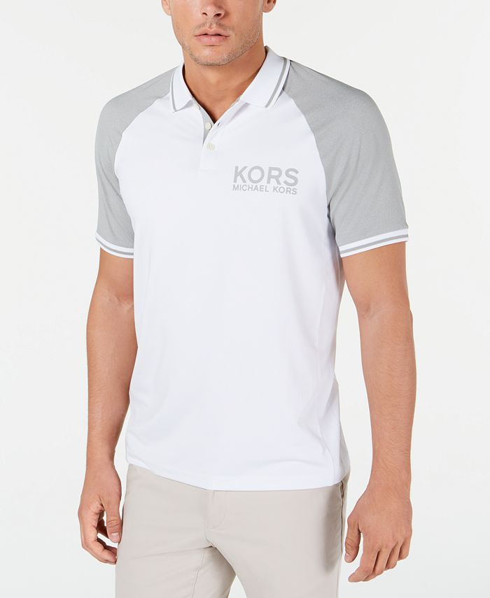 Michael Kors - Men's Performance Golf Raglan Polo Shirt