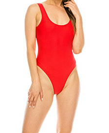 Kendall + Kylie Low Back 1 Piece Swimsuit
