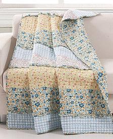 "Greenland Home Fashions Ditsy Ruffle Throw - 50"" x 60"""