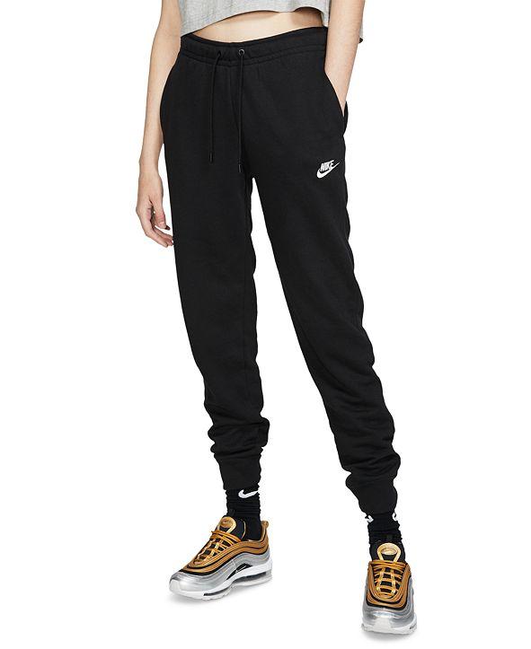 Nike Women's Sportswear Essential Fleece Joggers