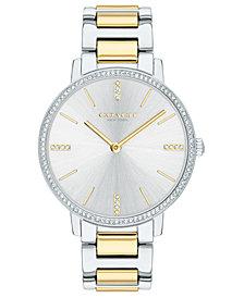 COACH Women's Audrey Two-Tone Stainless Steel Bracelet Watch 35mm