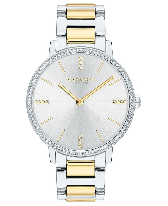 COACH Women's Audrey Two-Tone Stainless Steel Bracelet Watch 35mm