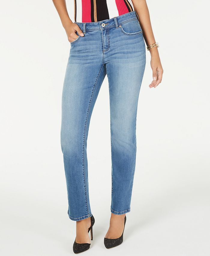 INC International Concepts - Straight-Leg Jeans