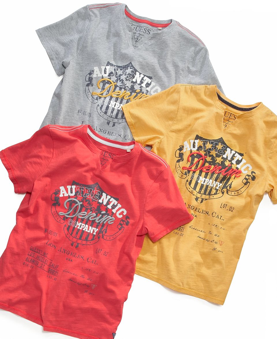 36847c436faca3 GUESS Kids T Shirt, Little Boys Authentic Denim Company Tee on PopScreen
