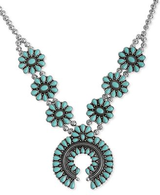 Lucky brand necklace large squash blossom necklace for Macy s lucky brand jewelry