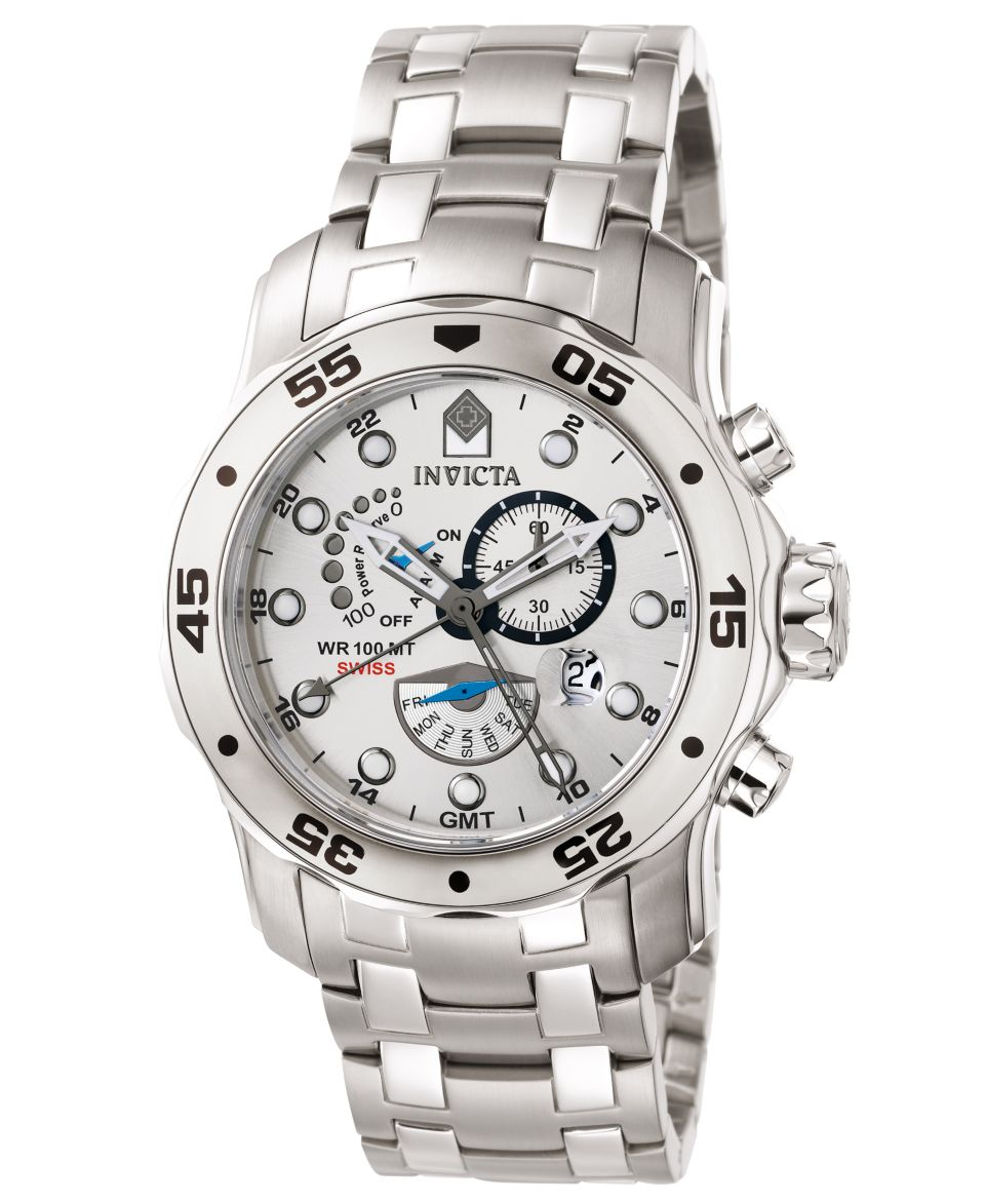 Invicta Watch, Mens Pro Diver Stainless Steel Bracelet 49mm 6088   Watches   Jewelry & Watches