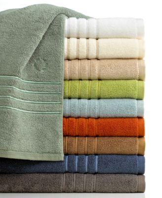 """Lenox Bath Towels, Platinum Solid 24"""" x 36"""" Tub Mat"""