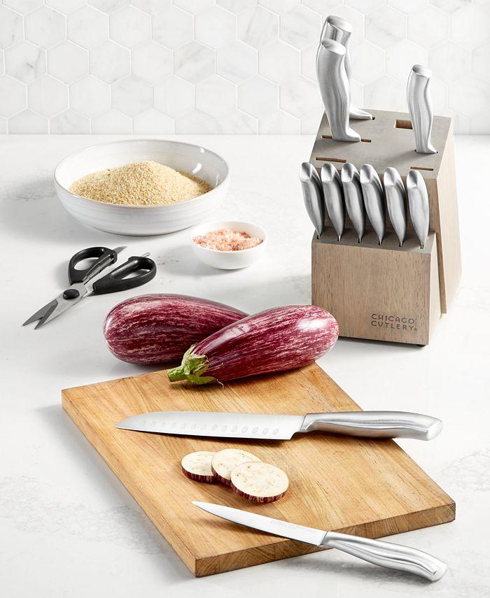 Chicago Cutlery - Insignia 13-Pc. Cutlery Block Set