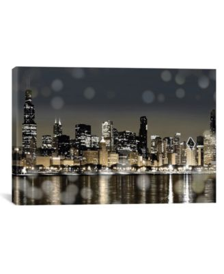 Chicago Nights I by Kate Carrigan Wrapped Canvas Print - 26