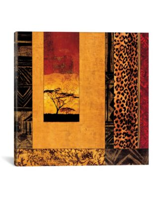 African Studies I by Chris Donovan Wrapped Canvas Print - 37