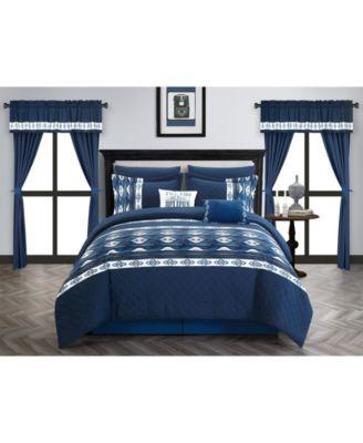 Safforn 20-Pc. Queen Comforter Set
