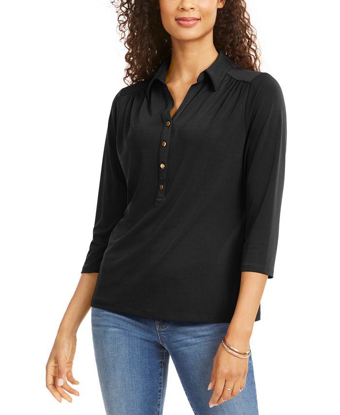 Charter Club - Knit Polo Shirt