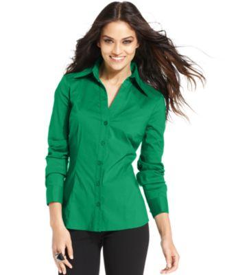 Green Shirts For Women
