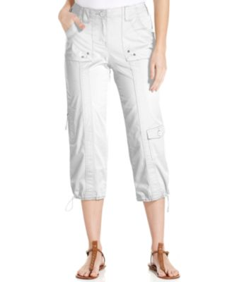 Image of Style & Co. Cropped Cargo Pants, Only at Macy's